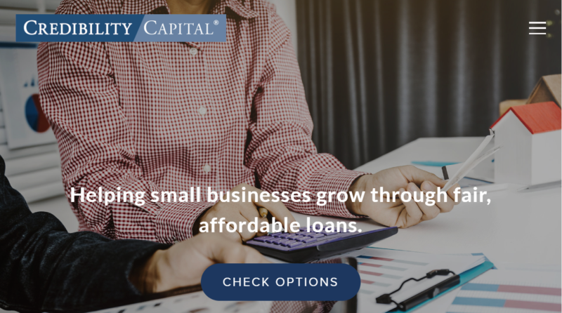 Credibility Capital Website Review