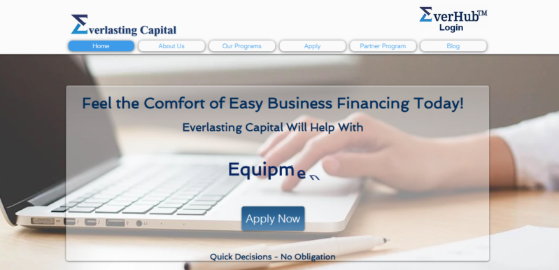 Everlasting Capital Website Review