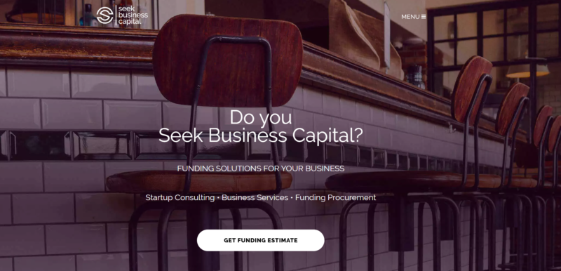 Seek Business Capital Website Review